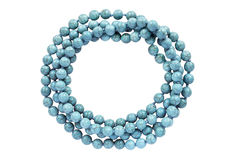 Turquoise bead Stock Photo