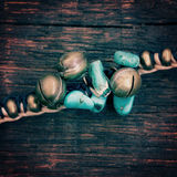 Turquoise bead Royalty Free Stock Image