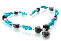Turquoise beads Stock Photography