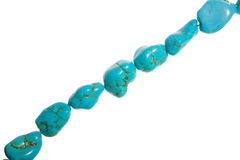 Turquoise Beads Stock Photo