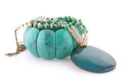 Turquoise bijou Royalty Free Stock Photography