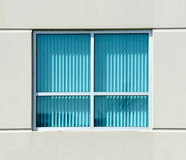 Turquoise blinds Stock Image