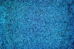 Turquoise blue knitted texture pattern background royalty free stock images