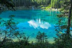 Turquoise blue lake Royalty Free Stock Photography