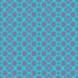 Turquoise blue and pink seamless pattern. Turquoise blue and pink seamless design pattern Royalty Free Stock Images