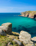 Turquoise blue sea Stock Photo