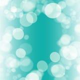 Turquoise bokeh Royalty Free Stock Image