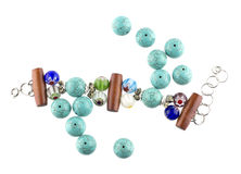 Turquoise bracelet Royalty Free Stock Images