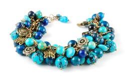 Turquoise bracelet Stock Image