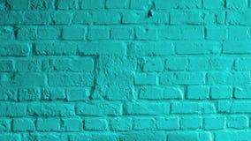 Turquoise Brick Background Stock Image
