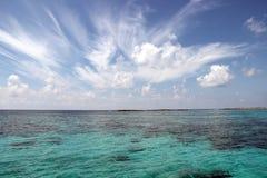 Turquoise Caribbean Sea Royalty Free Stock Image