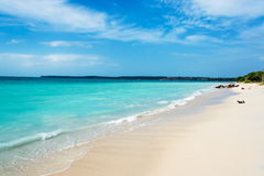 Turquoise Caribbean Water Stock Image