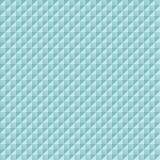 Turquoise carrée de pyramides de diamants de modèle sans couture illustration stock