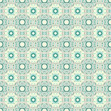 Turquoise ceramic pattern Stock Photo