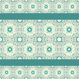 Turquoise ceramic pattern Royalty Free Stock Photo
