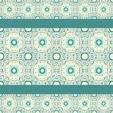 Turquoise ceramic pattern Royalty Free Stock Photo