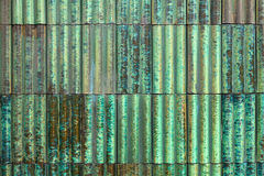 Turquoise ceramic tiles Royalty Free Stock Photography