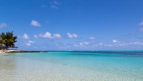 Turquoise clear water Stock Photo