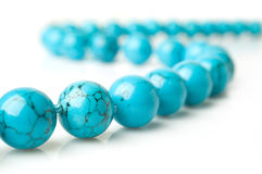 Turquoise close-up Royalty Free Stock Photos