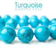 Turquoise close-up Royalty Free Stock Image