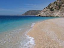Turquoise coast beach Stock Photography
