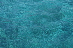 Turquoise color of sea Royalty Free Stock Photography