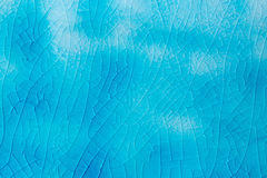 Turquoise colored craquele texture as a background Royalty Free Stock Photos