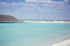 Turquoise colored Salda lake view.Burdur/Turkey Stock Photos
