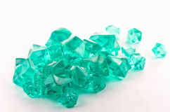 Turquoise crystals Stock Photography
