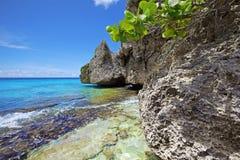 Turquoise Curaçao photo libre de droits
