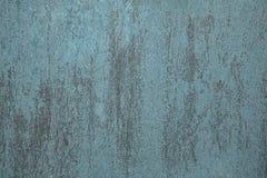Turquoise décorative grunge Gray Background de vintage Image libre de droits