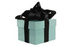 turquoise de cadeau de cadre Photos stock