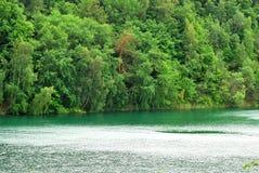 Turquoise de lac Images stock