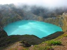 turquoise de lac image libre de droits