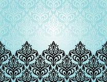 Turquoise decorative holiday background Royalty Free Stock Photos