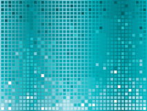 Turquoise disco background Stock Images