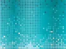 Turquoise disco background Stock Images