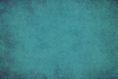 Turquoise dotted grunge texture, background Stock Images