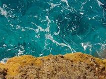 Turquoise et or Photos libres de droits