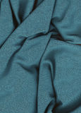 Turquoise fabric Stock Images