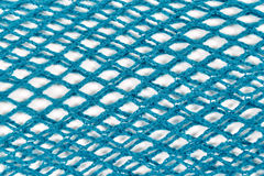 Turquoise Fishnet Royalty Free Stock Photography