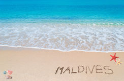 Turquoise foreshore with Stock Images