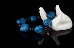 Turquoise gem Royalty Free Stock Image