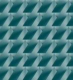 Turquoise geometric abstract background. Modern techno. Vector design Royalty Free Stock Photography