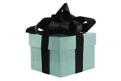 Turquoise Gift Box Stock Photos