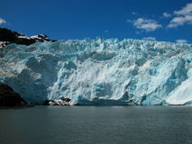 Turquoise Glacier Ice Stock Photography