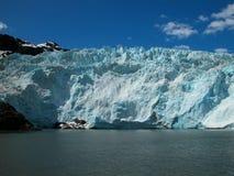 Turquoise Glacier Ice Stock Photography
