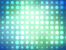 Turquoise glowing abstract background. Stock Images