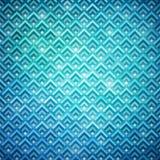 Turquoise glowing geometric background Royalty Free Stock Image