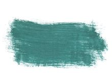Turquoise green abstract aquarel watercolor. Background for design stock image